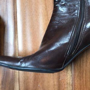 Nine West Shoes - Nine West Brown Knee High boot, 3 inch heel